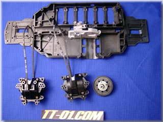 TA-05 IFS(製作中その1)