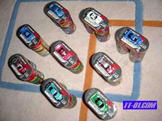 ローソン限定 スーパーGT 激走GTミニカー集め