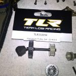 TLR22-4 アルミプリーセット