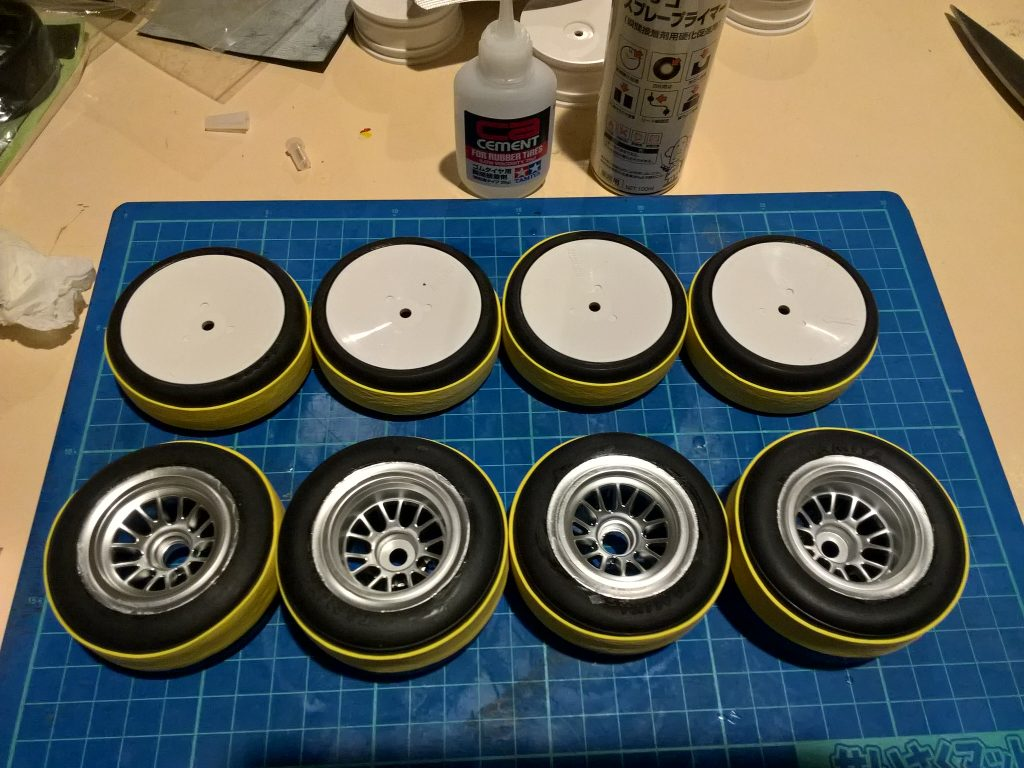 ラジコンのタイヤ作る